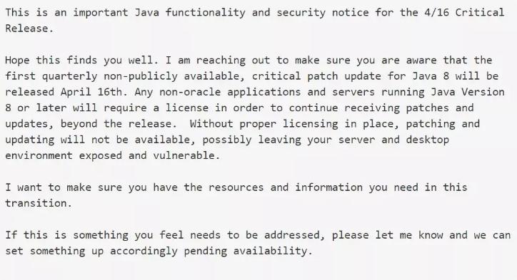 决定Java未来的三大主要项目!
